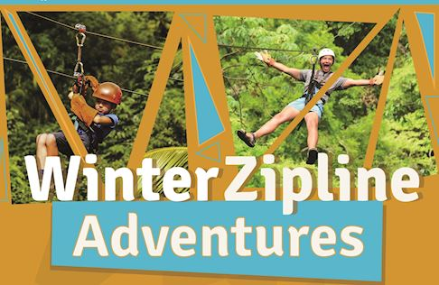 Winter Zipline Adventure